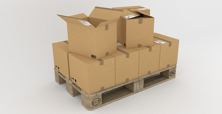 Les palettes en carton et le transport des marchandises à l'international